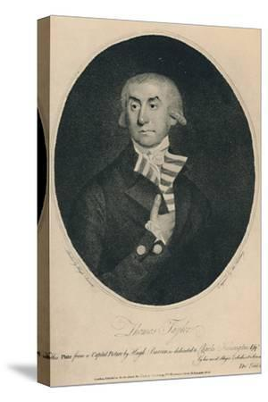 'Thomas Tayler, Master of Lloyd's Coffee House, 1774-1796', (1928)-Unknown-Stretched Canvas Print