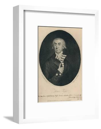 'Thomas Tayler, Master of Lloyd's Coffee House, 1774-1796', (1928)-Unknown-Framed Photographic Print