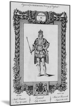 'Richard III', c1787-Unknown-Mounted Giclee Print
