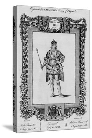 'Richard III', c1787-Unknown-Stretched Canvas Print