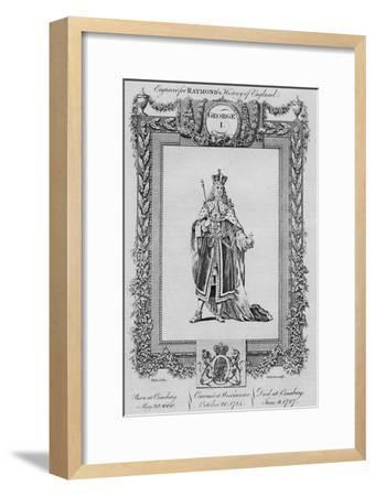 'George I', c1787-Unknown-Framed Giclee Print
