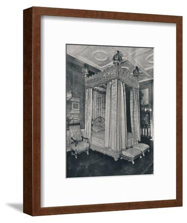 'The King's Bedroom at Knole. Bedstead Made for James I', 1928-Unknown-Framed Photographic Print