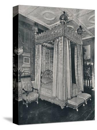 'The King's Bedroom at Knole. Bedstead Made for James I', 1928-Unknown-Stretched Canvas Print
