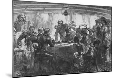 'Signing the Treaty of Nankin', c1880-Unknown-Mounted Giclee Print