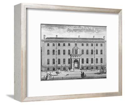 'The South Sea House in 1754', mid 18th century, (1928)-Unknown-Framed Photographic Print