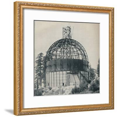 'Skeleton Dome to House an Astronomical Mammoth', c1935-Unknown-Framed Photographic Print