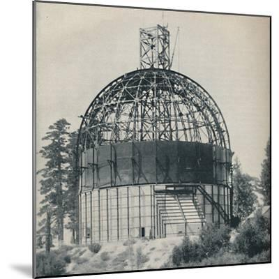 'Skeleton Dome to House an Astronomical Mammoth', c1935-Unknown-Mounted Photographic Print