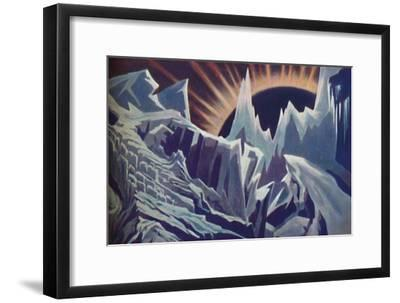 'Mercury's Eternal Night', c1935-Unknown-Framed Giclee Print