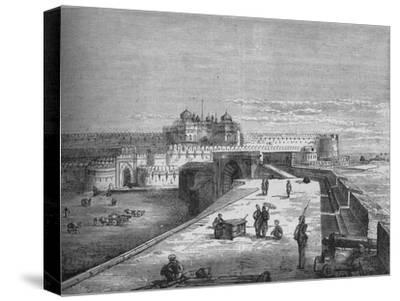 'Agra', c1880-Unknown-Stretched Canvas Print