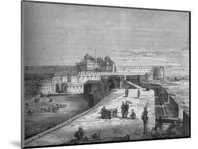 'Agra', c1880-Unknown-Mounted Giclee Print