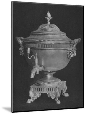 'Urn presented to Thomas Backhouse by Committee on American Captures 1806', 1928-Unknown-Mounted Giclee Print