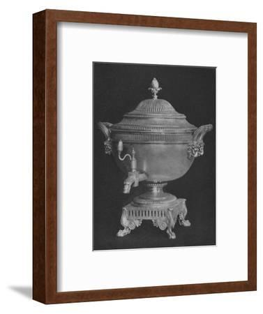 'Urn presented to Thomas Backhouse by Committee on American Captures 1806', 1928-Unknown-Framed Giclee Print