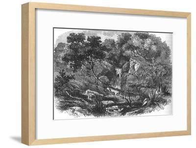 'New Zealand Landscape', c1880-Unknown-Framed Giclee Print