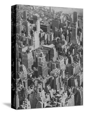 'Massed Miracles of American Achievement in Architecture', c1935-Ewing Galloway-Stretched Canvas Print