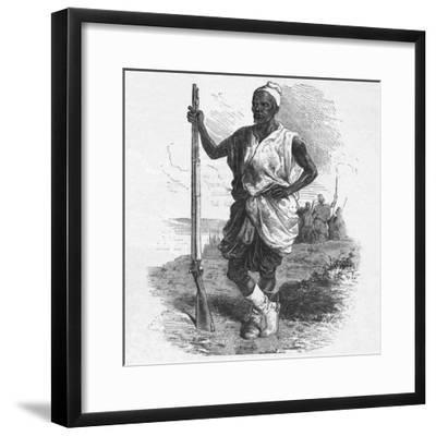 'Warrior of Elmina', c1880-Unknown-Framed Giclee Print