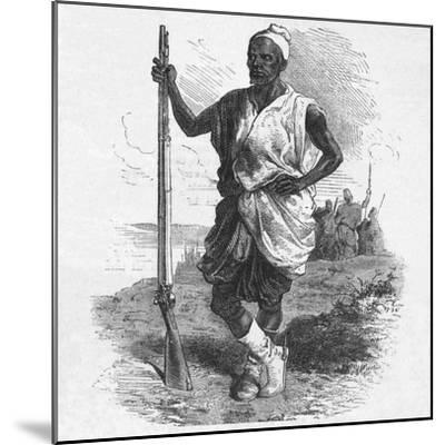 'Warrior of Elmina', c1880-Unknown-Mounted Giclee Print