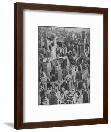 'Massed Miracles of American Achievement in Architecture', c1935-Ewing Galloway-Framed Photographic Print