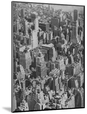 'Massed Miracles of American Achievement in Architecture', c1935-Ewing Galloway-Mounted Photographic Print