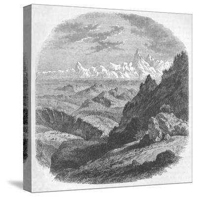 'View of the Himalayan Range', c1880-Unknown-Stretched Canvas Print