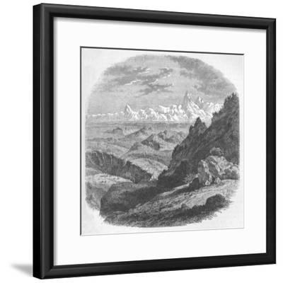 'View of the Himalayan Range', c1880-Unknown-Framed Giclee Print