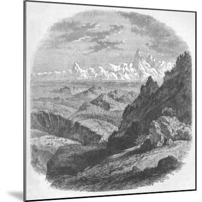 'View of the Himalayan Range', c1880-Unknown-Mounted Giclee Print