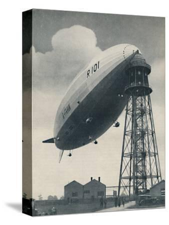 'Floating at the Mast Head, A Mighty Envelope of Invisible Power', c1935-Unknown-Stretched Canvas Print