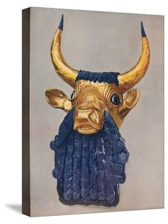 'Oldest Known Examples of the Goldsmith's Art: Masterpieces of Sumerian Culture', c1935-Unknown-Stretched Canvas Print