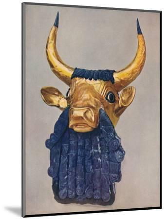 'Oldest Known Examples of the Goldsmith's Art: Masterpieces of Sumerian Culture', c1935-Unknown-Mounted Giclee Print