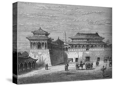 'The Emperor's Palace, Pekin', c1880-Unknown-Stretched Canvas Print