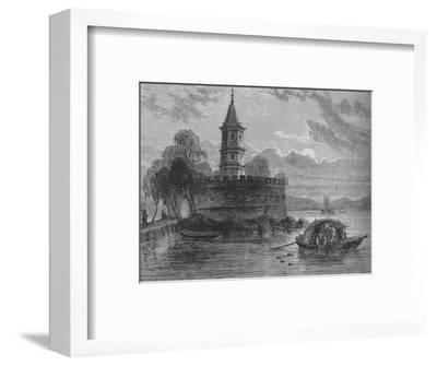 'Fort on the Peiho River', c1880-Unknown-Framed Giclee Print