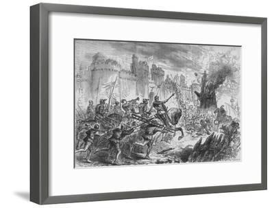 'The Siege of Berwick', c1880-Unknown-Framed Giclee Print