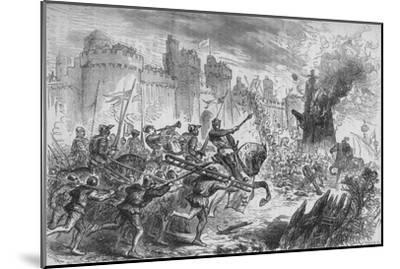 'The Siege of Berwick', c1880-Unknown-Mounted Giclee Print
