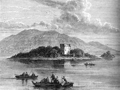 'Lochleven', c1880-Unknown-Framed Giclee Print