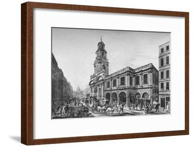 'The Second Royal Exchange, South Front, in 1788', (1928)-Unknown-Framed Giclee Print