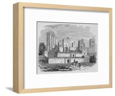 'Pontefract Castle', c1880-Unknown-Framed Giclee Print