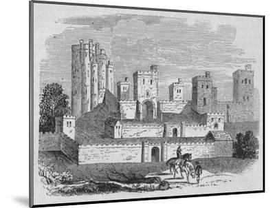 'Pontefract Castle', c1880-Unknown-Mounted Giclee Print