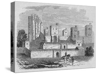 'Pontefract Castle', c1880-Unknown-Stretched Canvas Print