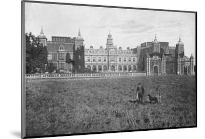 'Hatfield House, South Front', c1896-Unknown-Mounted Photographic Print