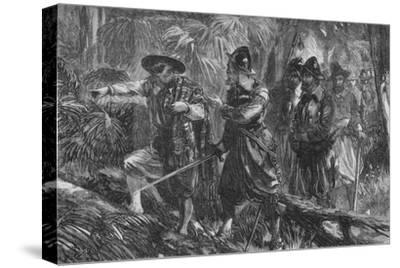 'The Expedition Against Santiago', c1880-Unknown-Stretched Canvas Print