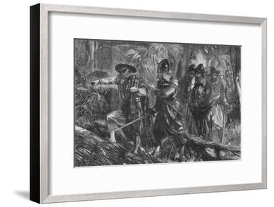 'The Expedition Against Santiago', c1880-Unknown-Framed Giclee Print