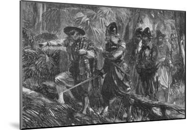 'The Expedition Against Santiago', c1880-Unknown-Mounted Giclee Print