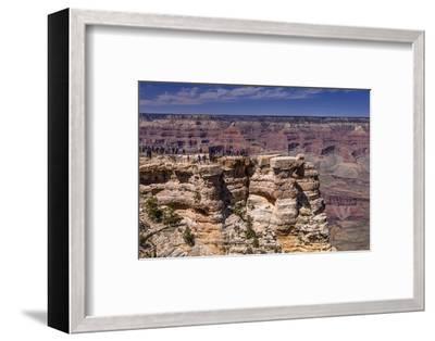 The USA, Arizona, Grand canyon National Park, South Rim, Mather Point-Udo Siebig-Framed Photographic Print