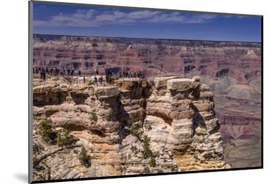 The USA, Arizona, Grand canyon National Park, South Rim, Mather Point-Udo Siebig-Mounted Photographic Print