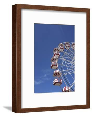 Aarhus, Tivoli Friheden, big wheel,-Gianna Schade-Framed Photographic Print