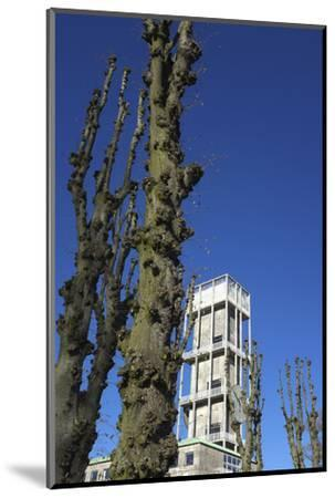 Aarhus, town hall tower by Arne Jacobsen - European cultural capital in 2017-Gianna Schade-Mounted Photographic Print