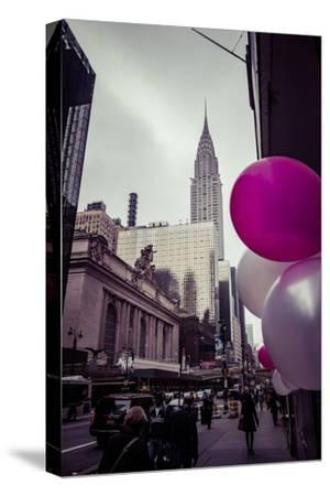 Balloons and Grand Central Station and Terminal, Manhattan, New York, USA-Andrea Lang-Stretched Canvas Print