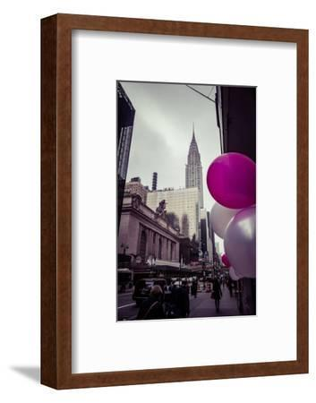 Balloons and Grand Central Station and Terminal, Manhattan, New York, USA-Andrea Lang-Framed Photographic Print