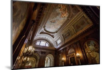 Ceiling Painting in NYPL, New York Public Library-Andrea Lang-Mounted Photographic Print