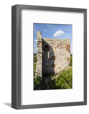 Europe, Poland, Silesia, Krakow-Czestochowa Upland / Polish Jurassic Highland - Olsztyn Castle-Mikolaj Gospodarek-Framed Photographic Print