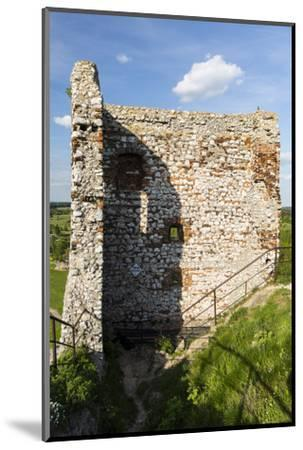 Europe, Poland, Silesia, Krakow-Czestochowa Upland / Polish Jurassic Highland - Olsztyn Castle-Mikolaj Gospodarek-Mounted Photographic Print